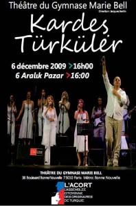 L'ACORT- Les activités lors de la Saison de la Turquie 2009-2010