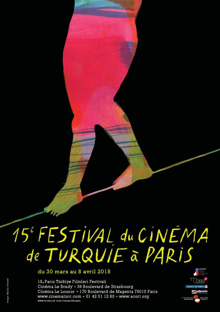 ACORT_ AFFICHE 15eme_FESTIVAL_CINEMA_DE_TURUQIE_2018