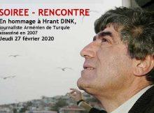Bandeau Hrant DINK